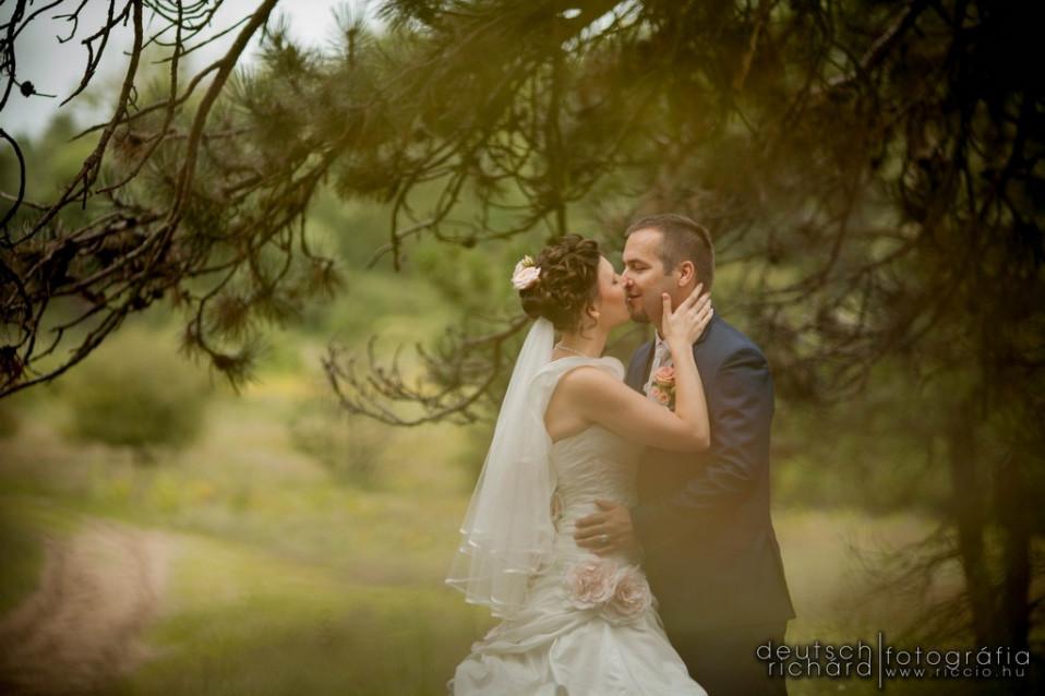 Esküvő: Ági és Bandi