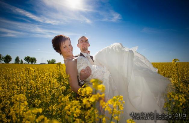 Esküvő: Heléna és Máté