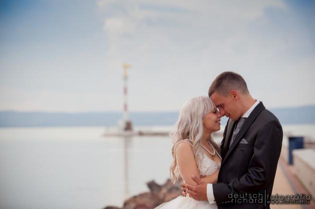 Esküvő: Ingrid és Gábor