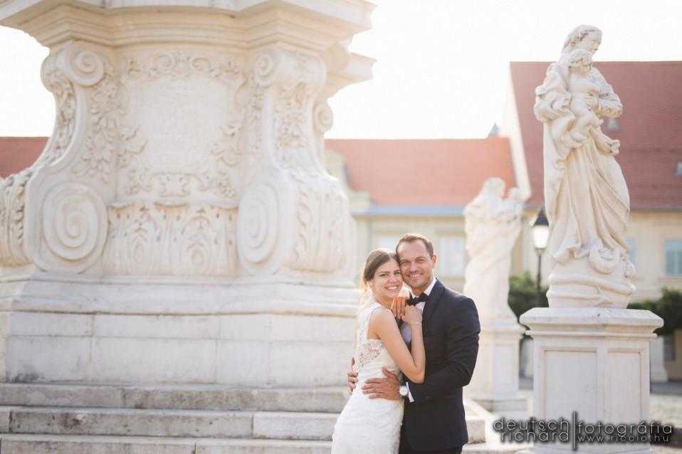Esküvő: Vivi és Peti – Zsolnay Étterem, Pécs