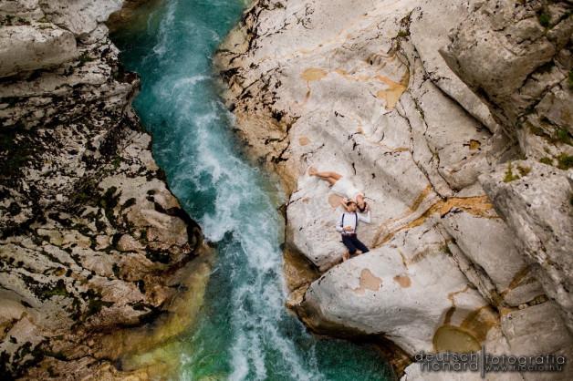 Viki és Norbi – esküvői kreatív fotózás Szlovéniában