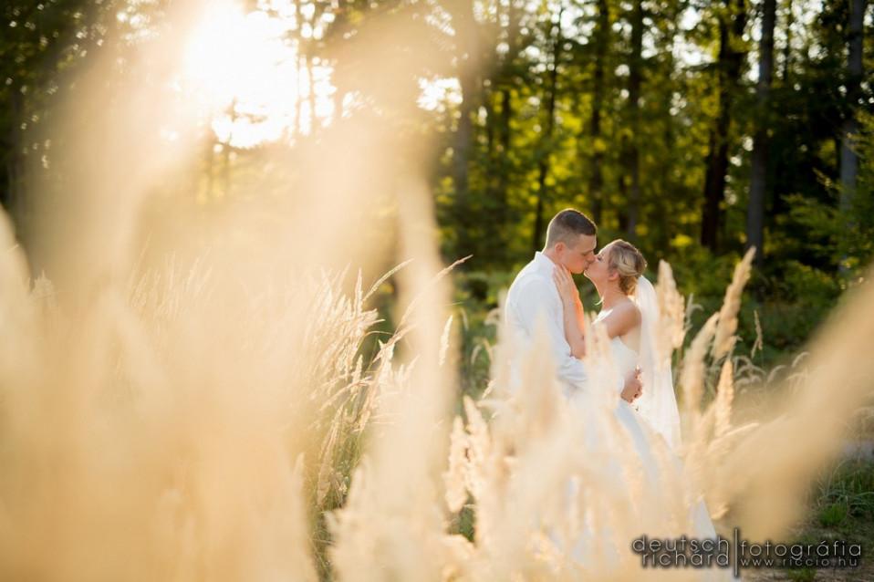 Esküvői kreatív fotózás: Edit és Tomi