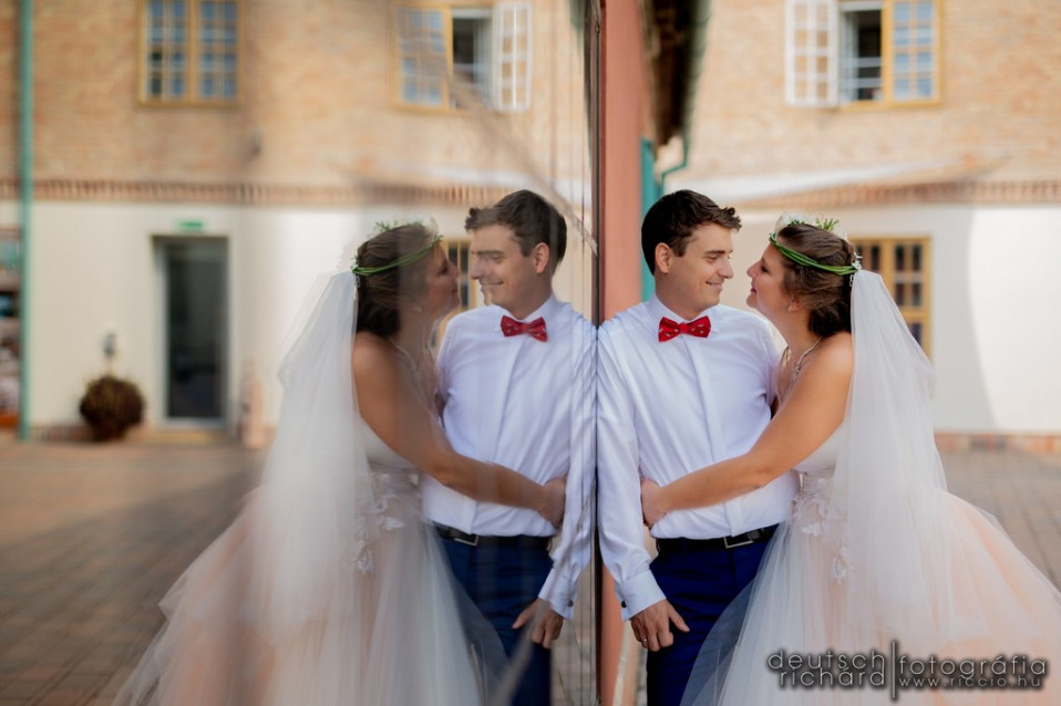 Esküvői kreatív: Kinga és Laci