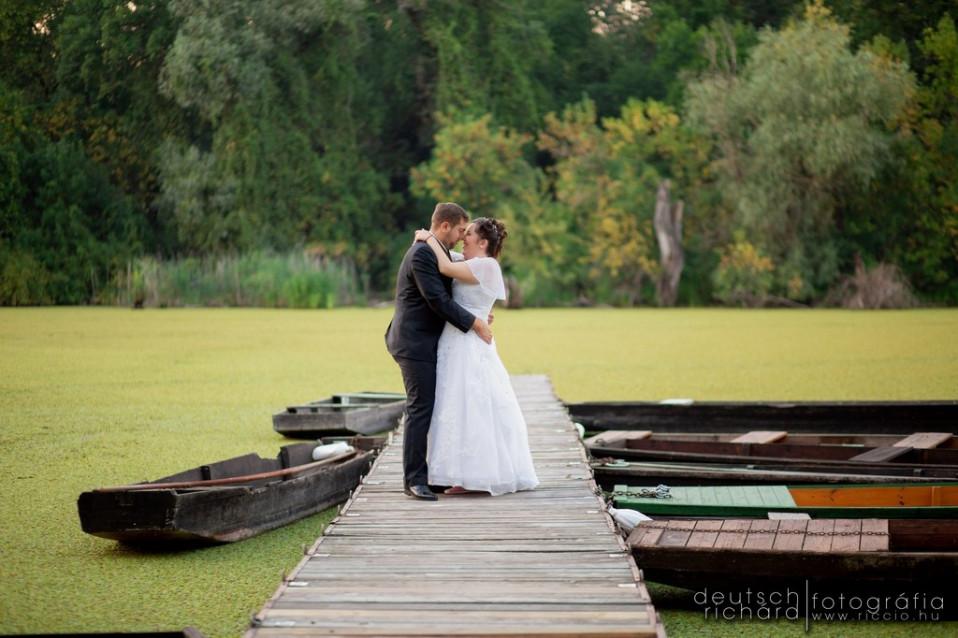Esküvő: Bea és Albi