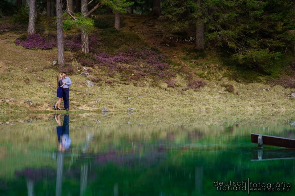 Andi és Ákos jegyes fotózása Ausztriában