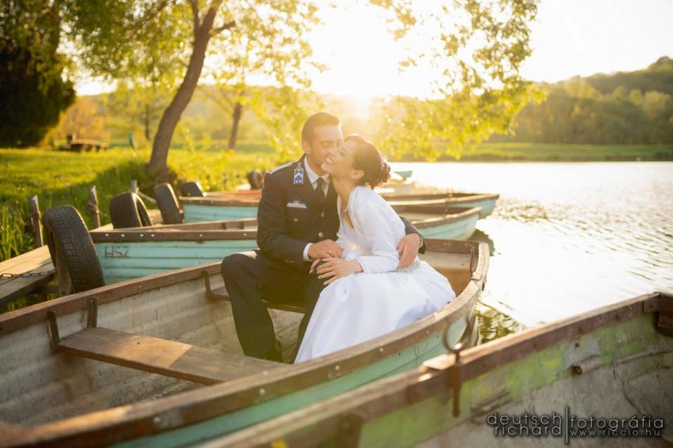 Esküvő: Beus és Jenci