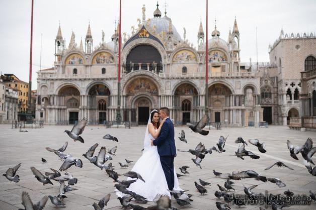 Esküvő: Vivi és Fecó + Kreatív fotózás Velencében