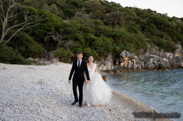 Kriszti és Rajmi kreatív fotózása Horvátországban