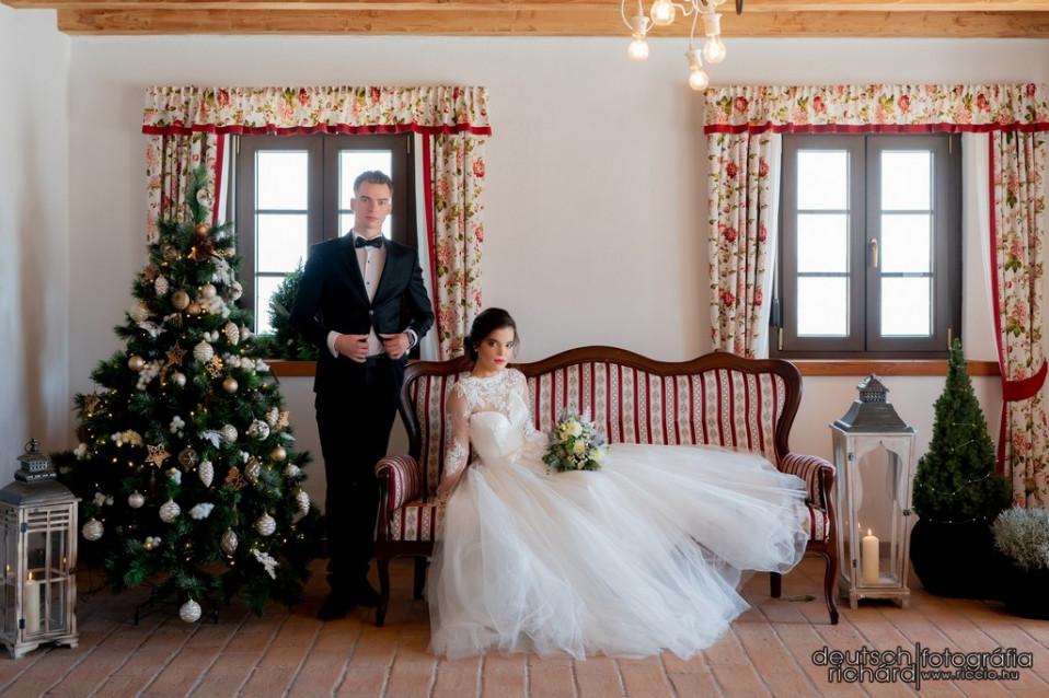 Christmas Wedding Styled Shoot – Pici Szívem – Badacsony