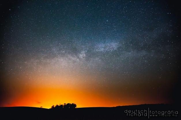 Csillagfotózás a Zselicben