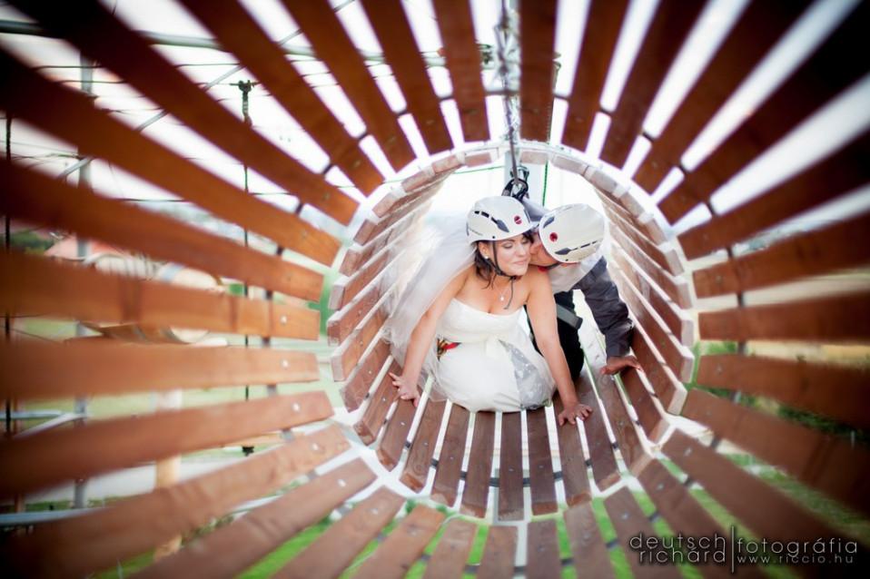 Esküvő: Kitti és Márk