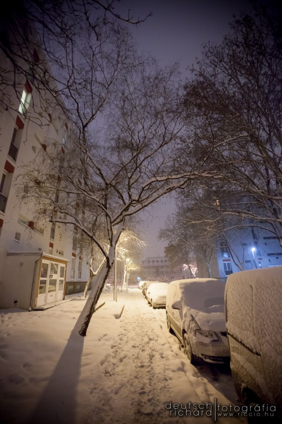 Séta a hóban