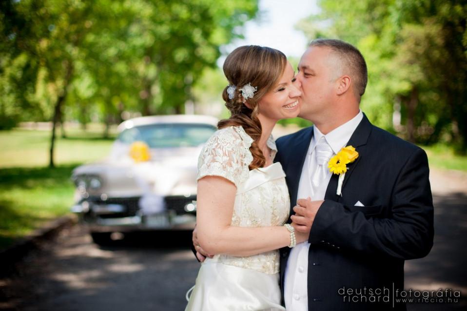 Esküvő: Muzsi és Sasi