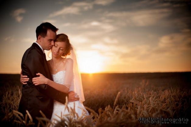 Esküvő: Bogi és Peti