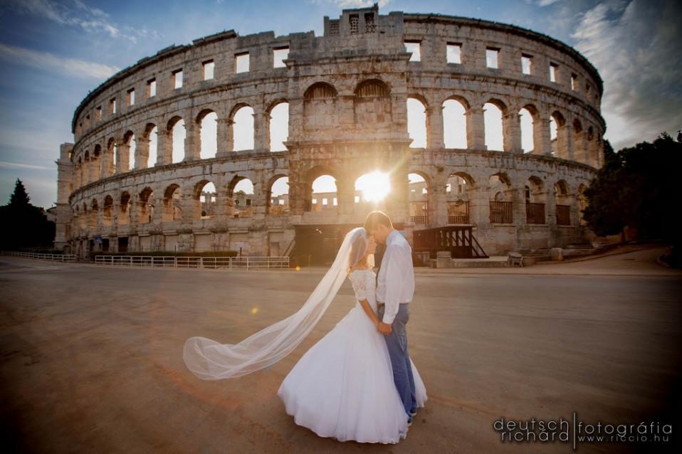 Esküvő: Gréti és Ahmi